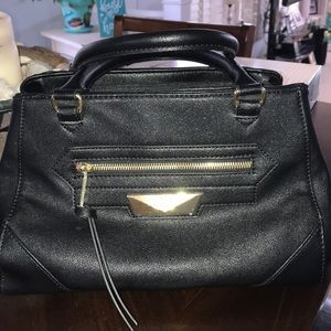 Nicole Miller Black Handbag